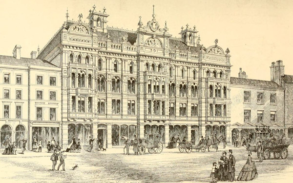1867 &#8211; Offices &#038; Shops, Lord St., Liverpool