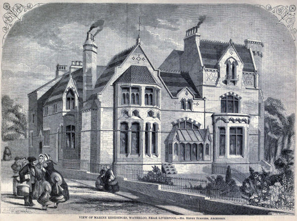 1861 – Marine Residences at Waterloo, Liverpool