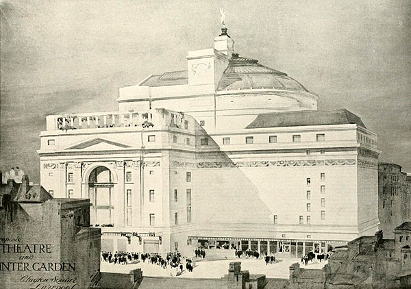 1920 – Theatre & Winter Garden, Clayton Square, Liverpool