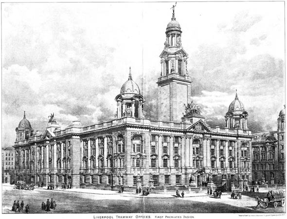 1903 – Liverpool Tramway Offices, Lancashire