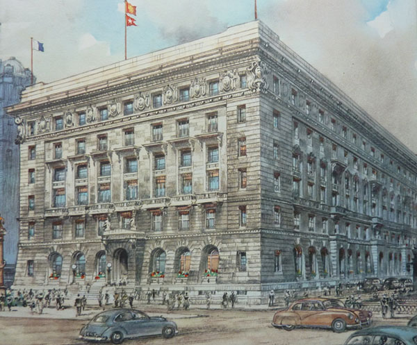1917 – Cunard Building, Liverpool