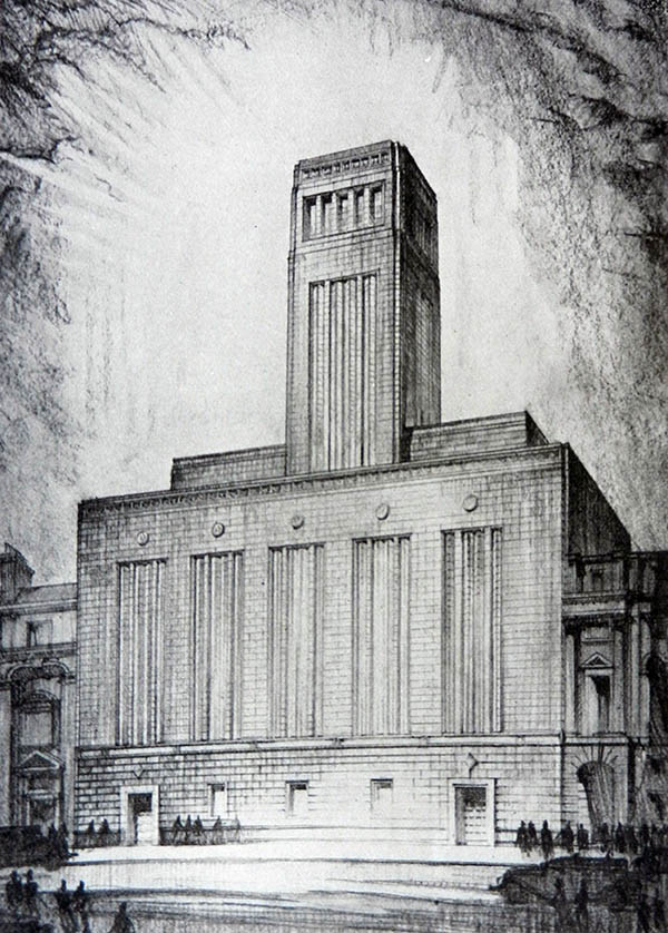 1934 – North John Street Ventilation Station, Liverpool