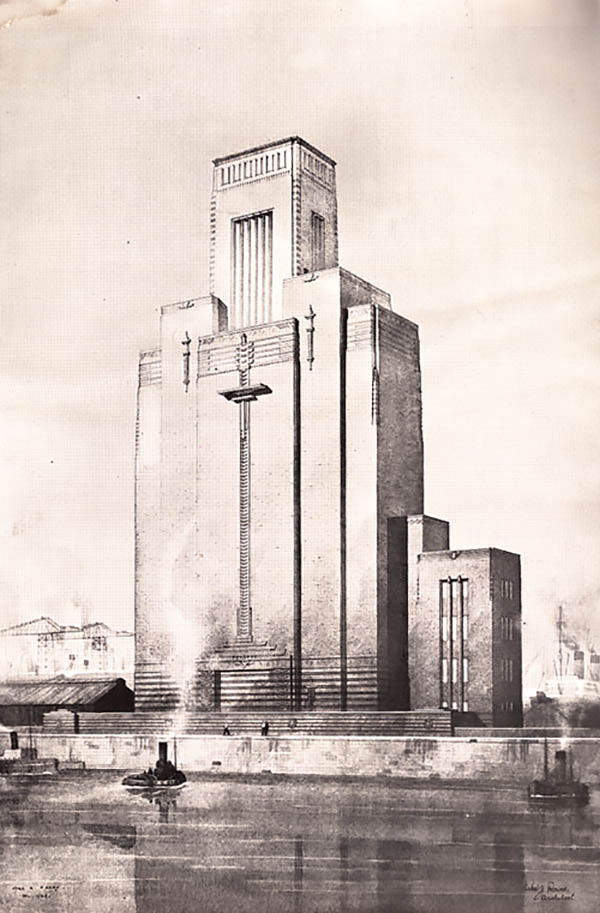 1934 – Woodside Ventilation Station, Birkenhead, Lancashire