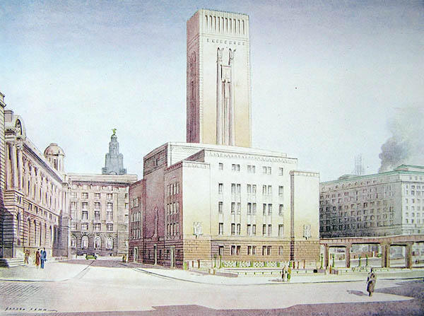 1934 – Mersey Tunnel Building, Liverpool