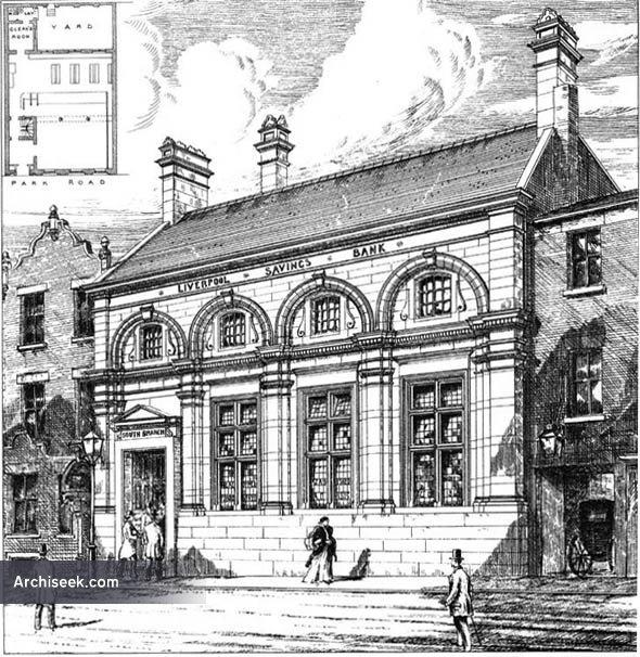 1879 – South Branch, Liverpool Savings Bank, Lancashire