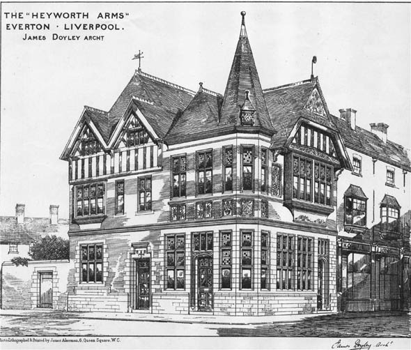 1883 &#8211; The Heyworth Arms, Everton, Liverpool, Lancashire