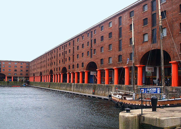 1839-46 Albert Dock, Liverpool