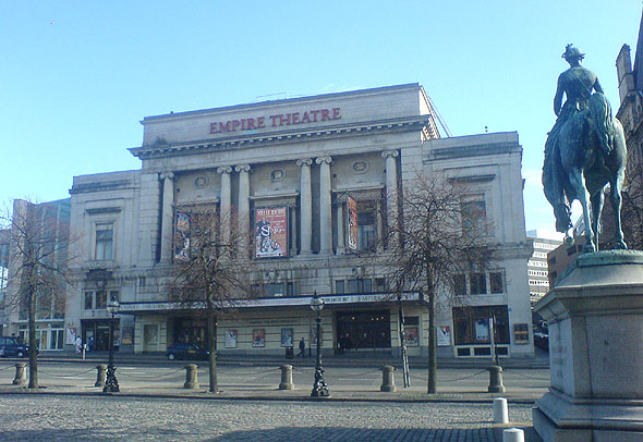 1925 &#8211; Empire Theatre, Liverpool
