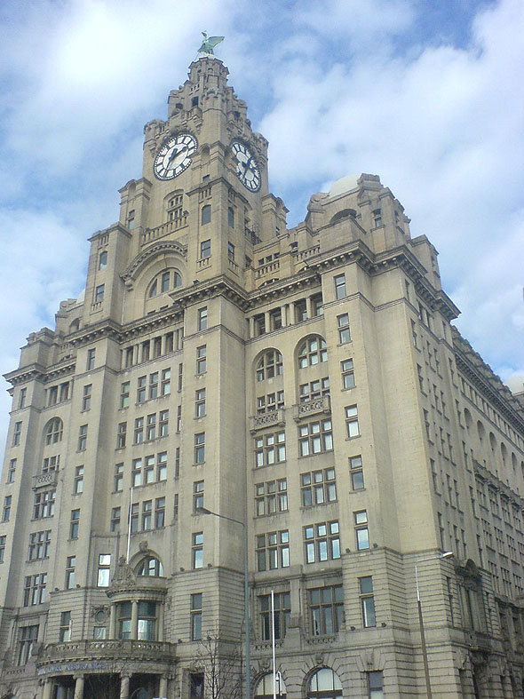 1911 – Royal Liver Building, Liverpool