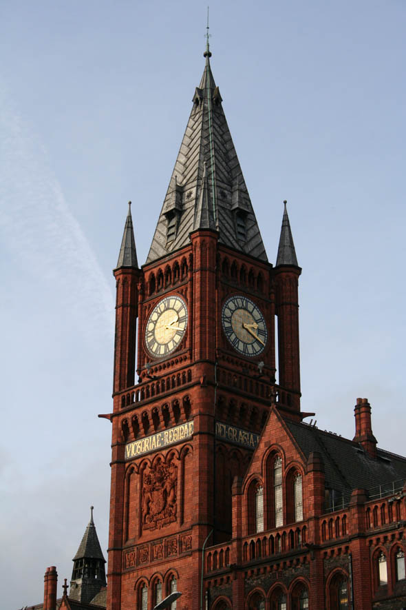 1892 &#8211; Victoria Building, University of Liverpool, Liverpool