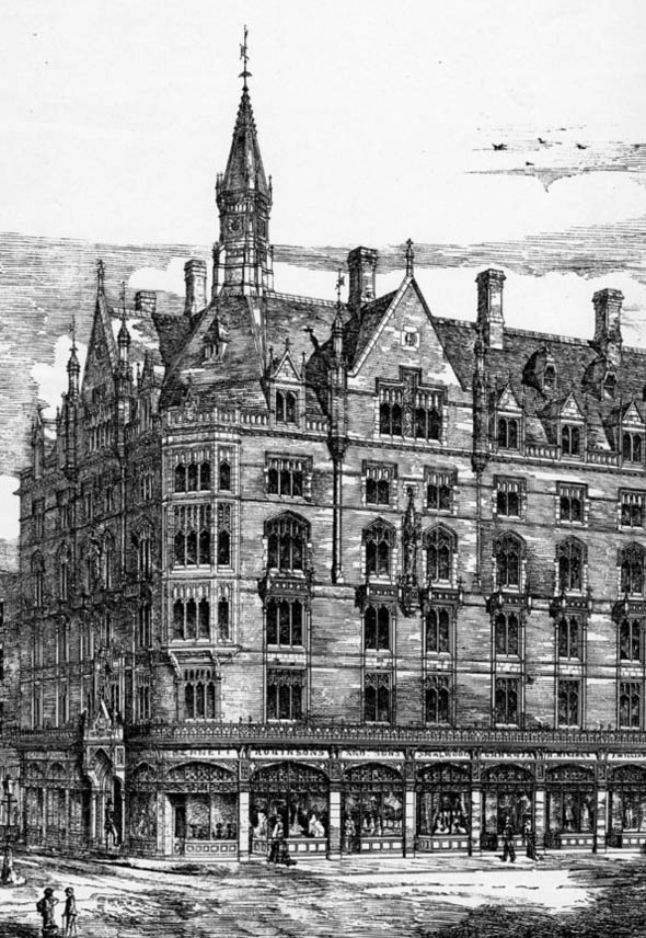 1879 &#8211; Commercial Premises, Aldersgate Street, London