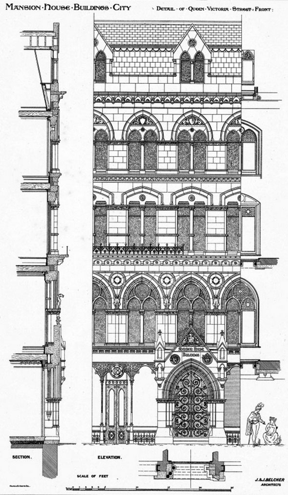 1873 – Mansion House Buildings, London