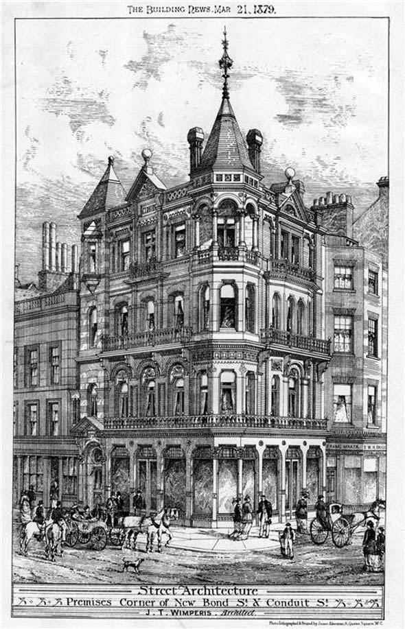 1879 &#8211; Commercial Premises, New Bond Street, London