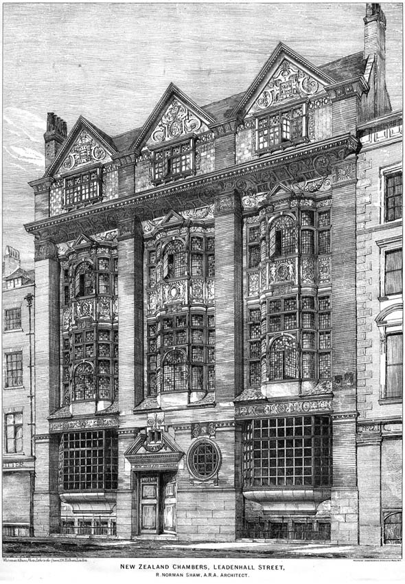 1873 – New Zealand Chambers, Leadenhall Street, London