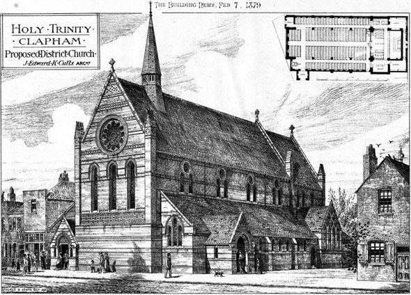 1879 &#8211; Holy Trinity, Clapham, London