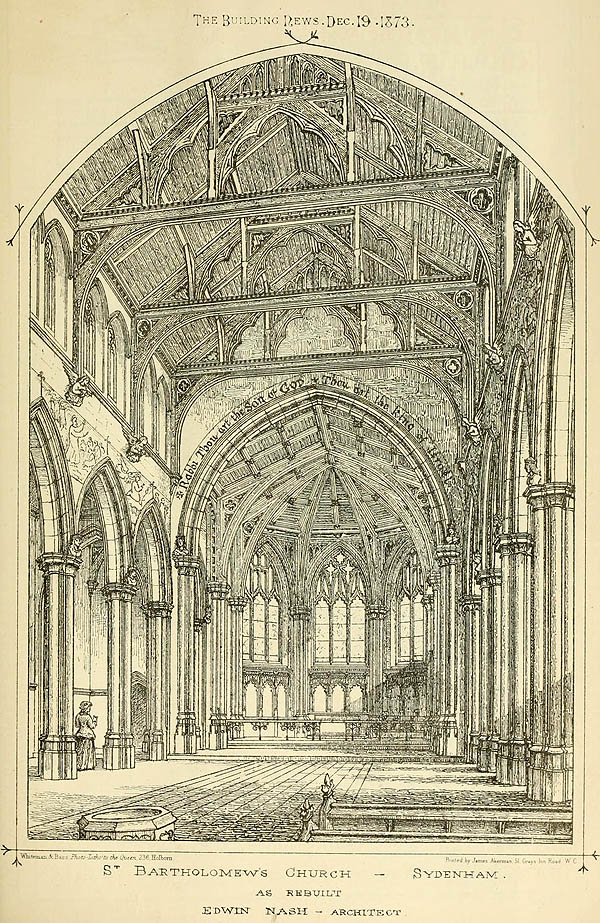 1908 &#8211; New Church of All Saints, Hampton, London