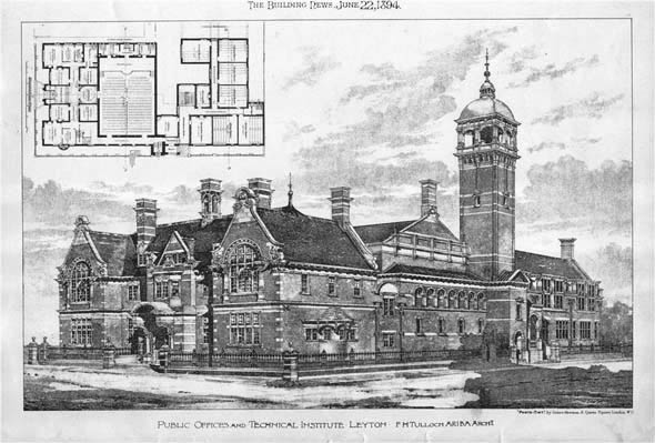 1894 &#8211; Public Offices, Leyton, London