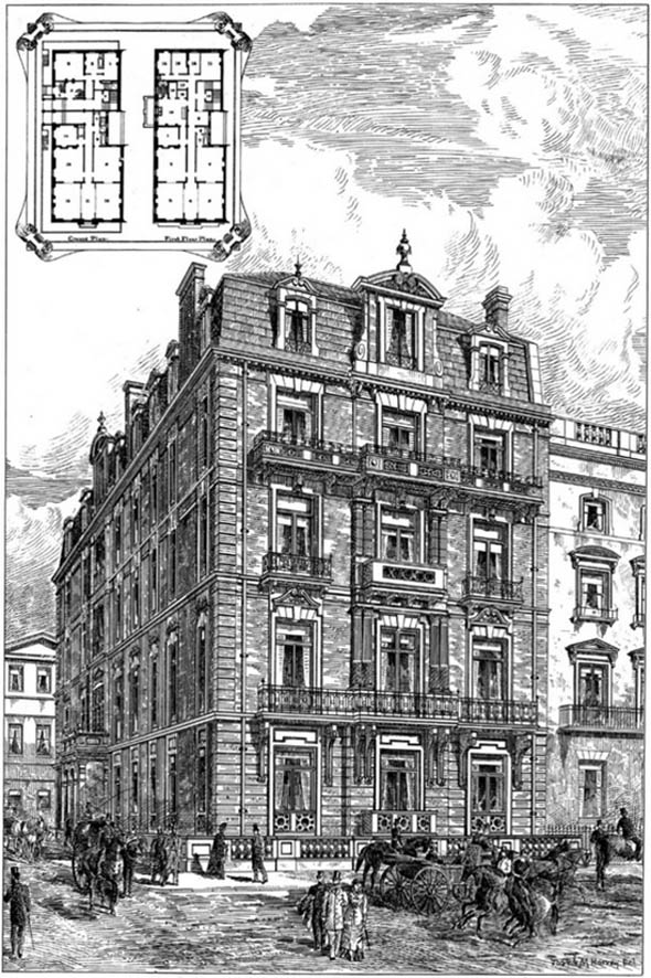 1881 &#8211; No. 1 Portland Place, London