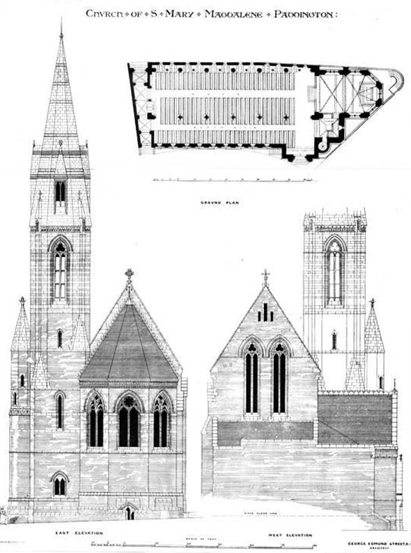 1873 – Church of St. Mary Magdalene, Paddington, London