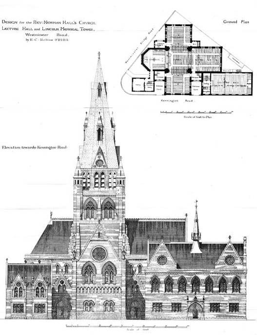 1873 &#8211; Christ Church, Westminster Road, Lambeth, London