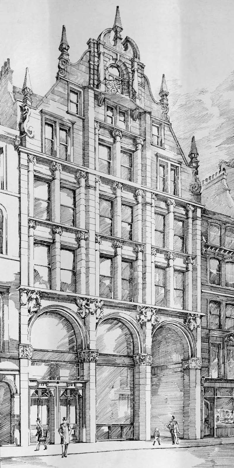 1899 – 77/78 Gracechurch Street, London