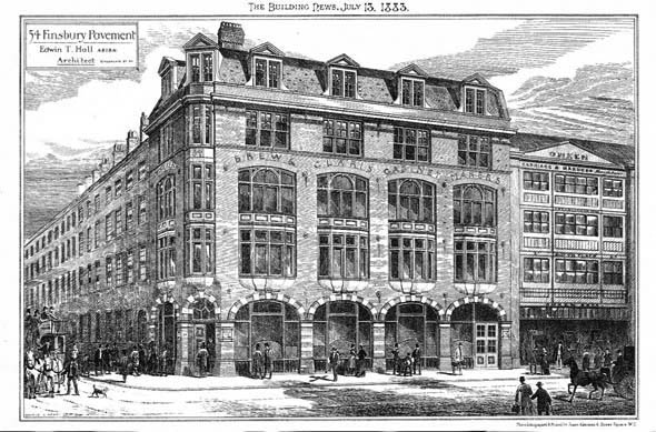 1883 &#8211; Commercial Premises, Finsbury, London