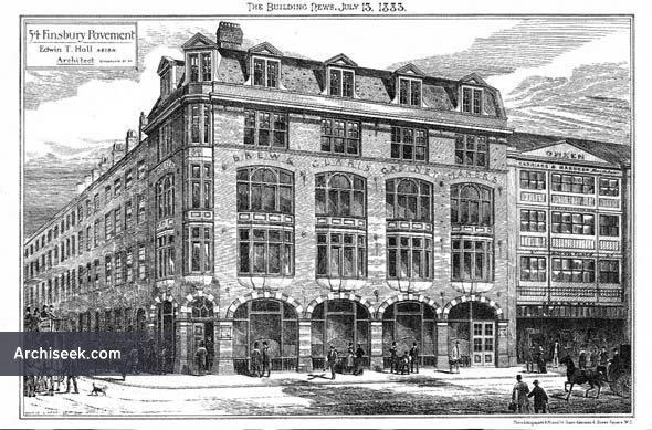 1883 – Commercial Premises, Finsbury, London
