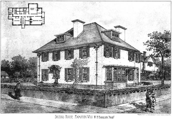 1905 &#8211; Doctors House, Hampton Wick, London