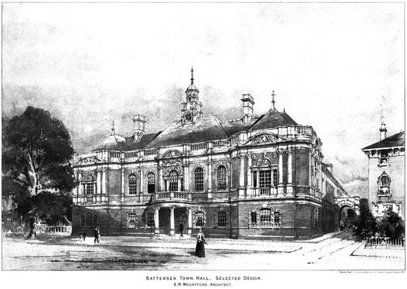1891 &#8211; Battersea Town Hall, London