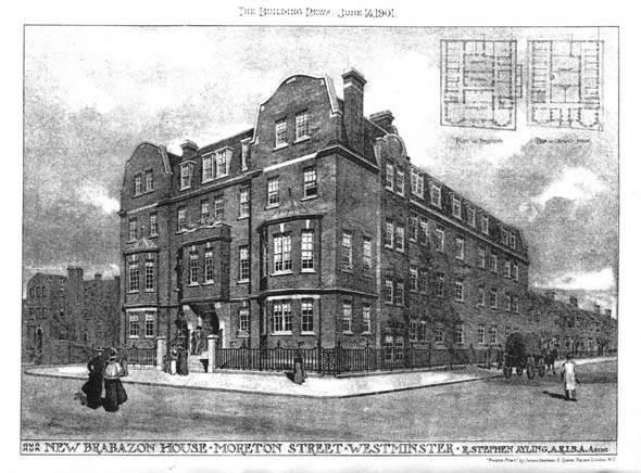 1901 – New Brabazon House, Moreton Street, London