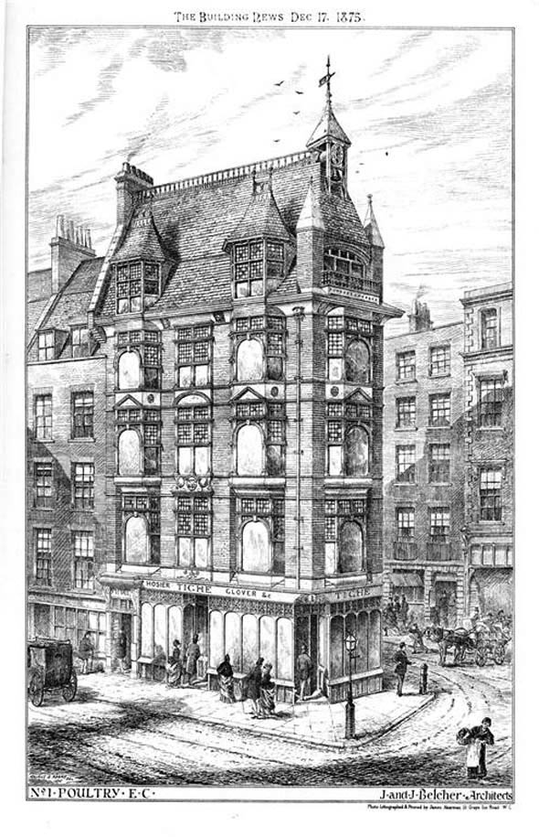 1875 – No.1 Poultry, London