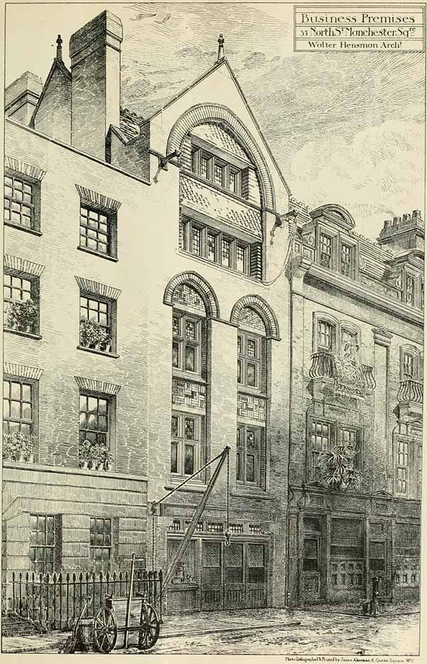 1881 &#8211; Business Premises, 35 North St. Manchester Square, London
