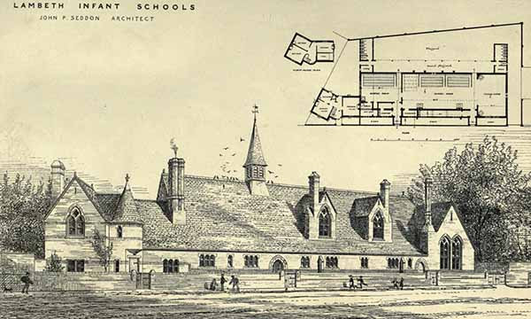 1881 – Lambeth Infant School, London