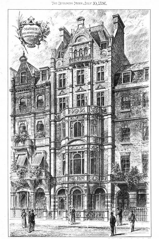 1891 – Mansion, Hill Street, Mayfair, London