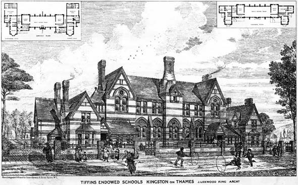1879 – Tiffins Endowed Schools, Kingston on Thames, London