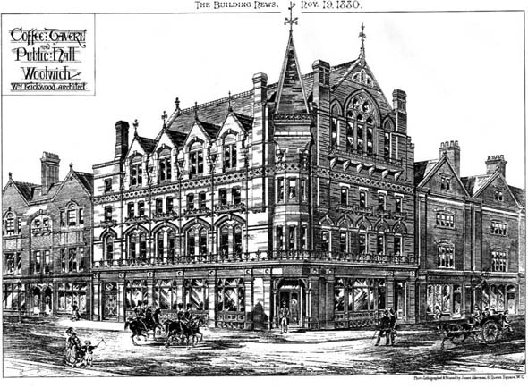 1880 &#8211; Coffee Tavern &#038; Public Hall, Woolwich, London