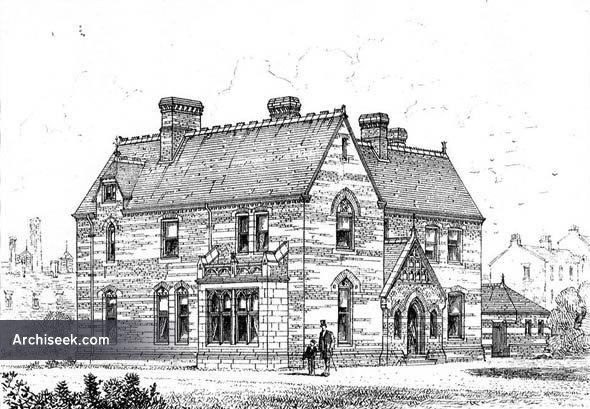 1873 – St. Luke's Parsonage House, Victoria Docks, London