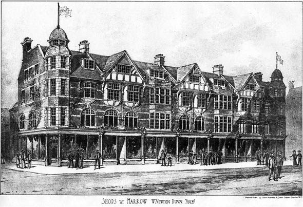 1905 – Shops at Harrow, London