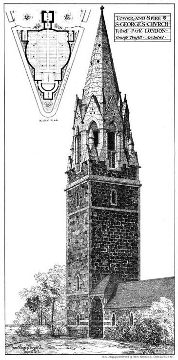 1876 – St. Georges Church, Tufnell Park, London
