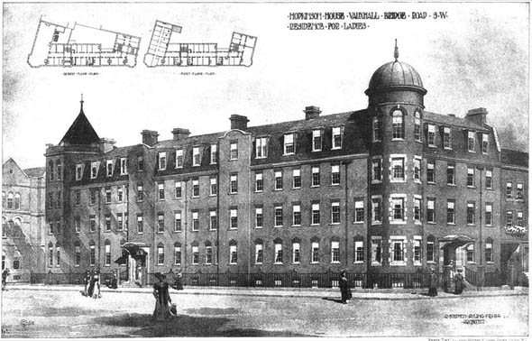 1905 – Hopkinson House, Vauxhall Bridge Road, London