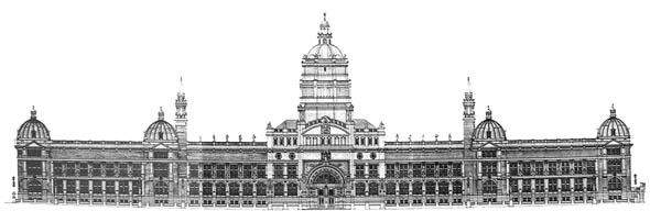 1891 – South Kensington Museum Competition, London