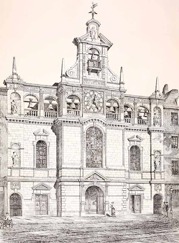 1879 – St James's Church, Marylebone, London