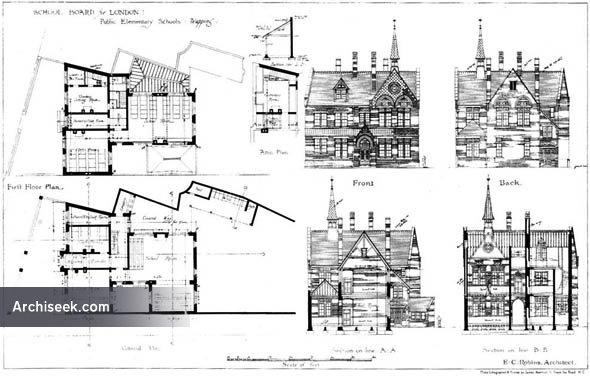 1874 – Public Elementary Schools, Wapping, London