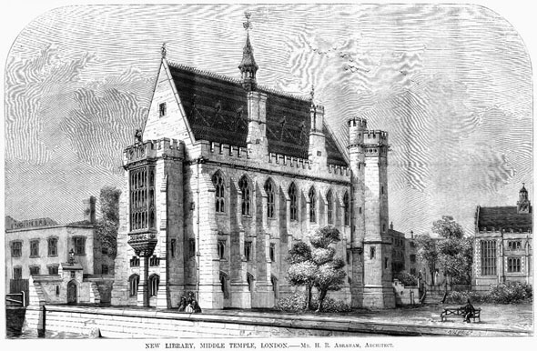 1862 – New Library, Middle Temple, London