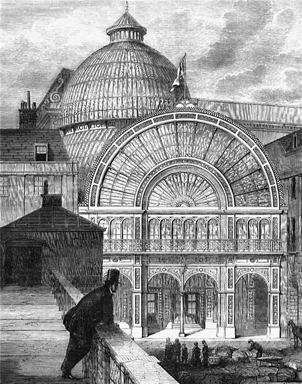 1860 – Floral Hall, Covent Garden, London