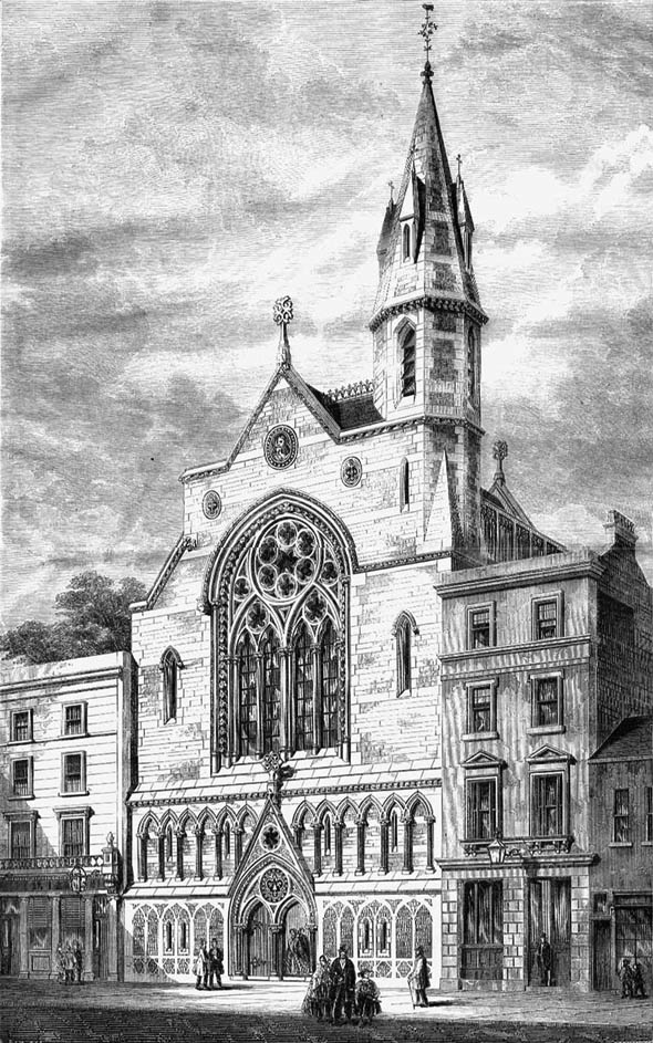 1860 &#8211; Holy Trinity Chapel, Knightsbridge, London