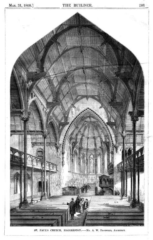 1860 &#8211; St Pauls Church, Haggerston, Hackney, London