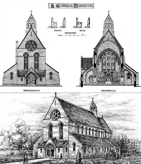 1873 &#8211; St. Gabriel&#8217;s, Newington, London