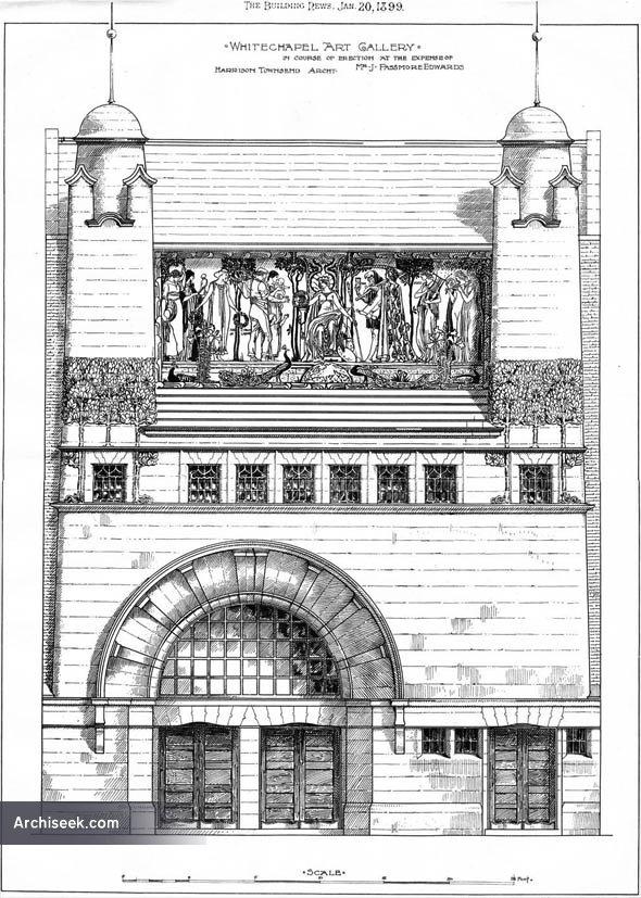 1899 – Whitechapel Art Gallery, London