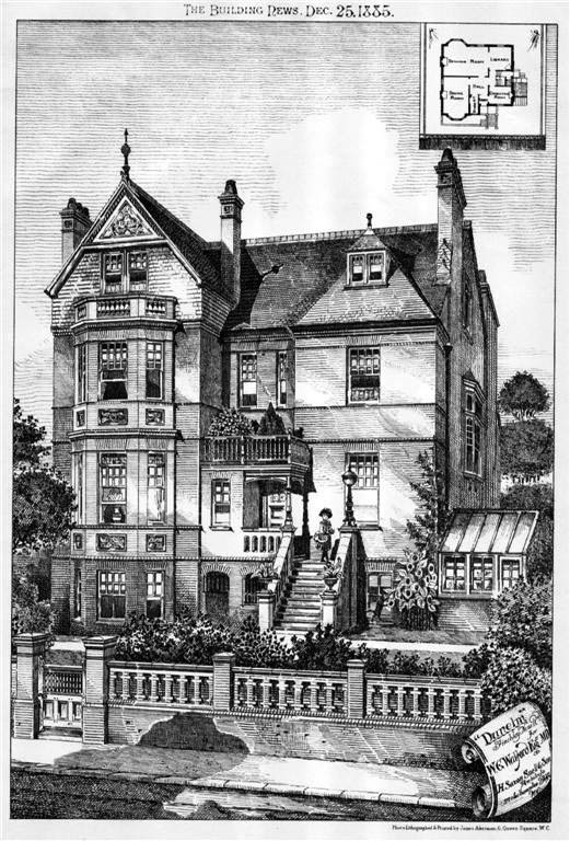 1885 – 'Dunelm', Finchley New Road, London